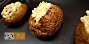 Gefüllte Backkartoffeln mit Bacon Rezept - Zubereitung Schritt 4