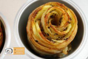 Kartoffelrosen mit Bacon Rezept - Zubereitung Schritt 6