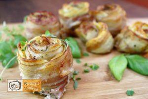 Kartoffelrosen mit Bacon - Rezept Videos