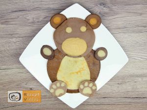 Bärchen-Pfannkuchen Rezept - Zubereitung Schritt 6