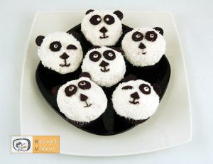 Panda-Muffins - Rezept Videos