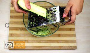 Zucchini-Käse-Bällchen Rezept - Zubereitung Schritt 1