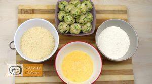 Zucchini-Käse-Bällchen Rezept - Zubereitung Schritt 5