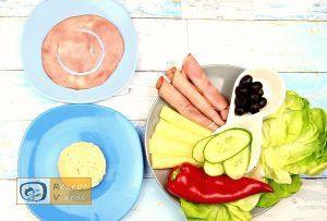 Krebs-Sandwich Rezept - Zubereitung Schritt 1