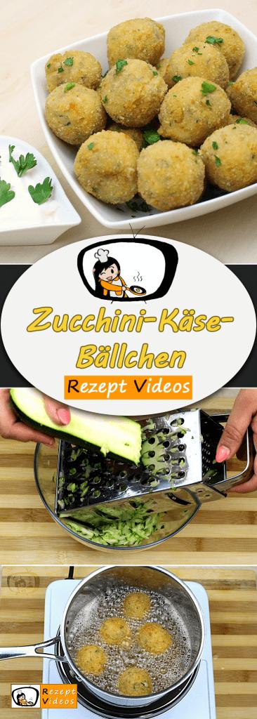 Zucchini-Käse-Bällchen, Rezept Videos, einfache Rezepte, Gemüse Rezepte, Beilage, Zucchini, Mittagessen Rezept, leckere Rezepte, schnelles Rezept