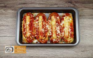 Hotdog mit Bolognesesauce Rezept - Zubereitung Schritt 8