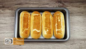 Hotdog mit Bolognesesauce Rezept - Zubereitung Schritt 2