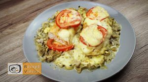 Hähnchenbrust mit Käse und Pilzen - Rezept Videos