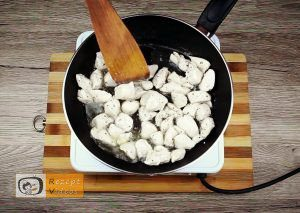 Hähnchenbrust mit Honig und Senf Rezept - Zubereitung Schritt 3