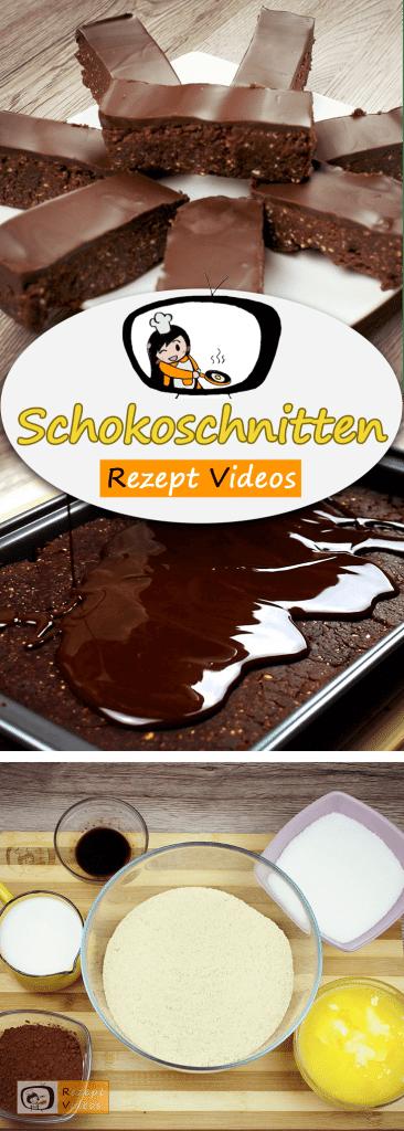 Schokoschnitten, Kuchen, Schokokuchen, Rezeptvideos, einfache Rezepte, Kuchenrezepte, leckere Rezepte