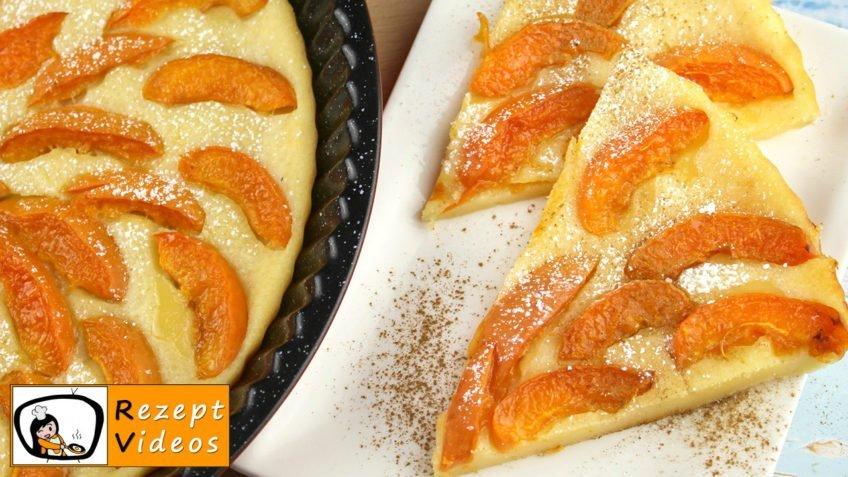 aprikosen pie rezept mit video kuchenrezept aprikosen kuchen backen. Black Bedroom Furniture Sets. Home Design Ideas