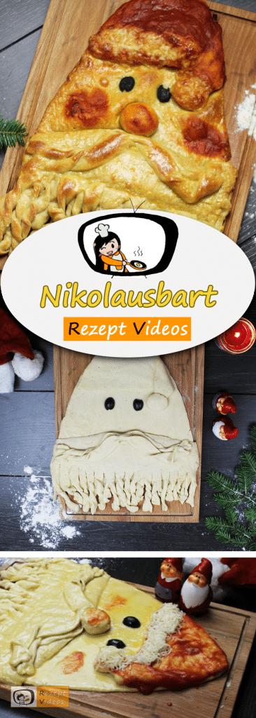 Nikolausbart, Rezeptvideos, einfache Rezepte, Weihnachten Rezepte, Weihnachtsrezepte, Advent Rezepte, Hefeteig Rezepte, leckere Rezepte