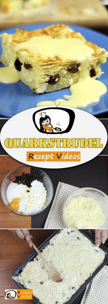 Quarkstrudel, Rezeptvideos, leckere Rezepte, einfache Rezepte, Dessert Rezepte, Nachtisch Rezept, Frühstück Rezepte, Frühstücksrezepte, schnelle Rezepte, Strudel Rezept