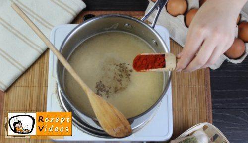 Einfache Eiersuppe Rezept - Zubereitung Schritt 5