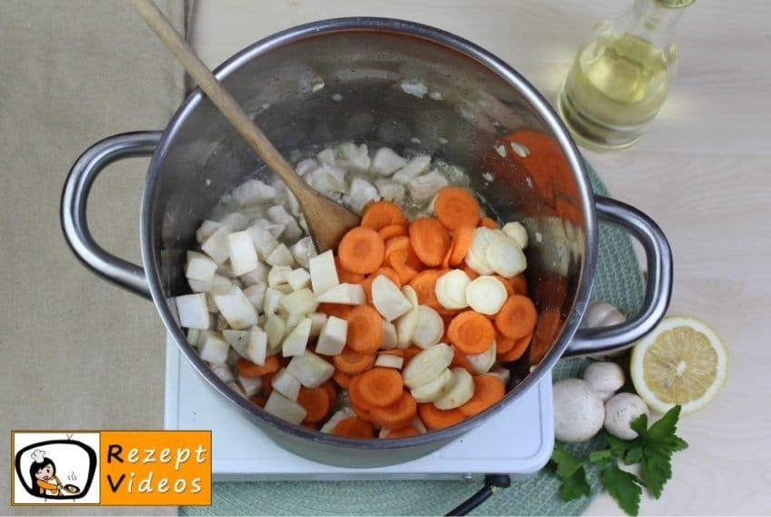 Estragon-Ragout-Suppe Rezept - Zubereitung Schritt 2
