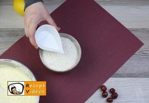 Kirsch-Rührkuchen Rezept Zubereitung Schritt 4