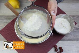 Kirsch-Rührkuchen Rezept Zubereitung Schritt 5