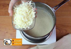Knoblauch-Gnocchi mit Käsesoße Rezept - Zubereitung Schritt 10