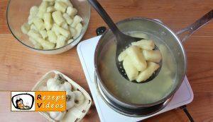 Knoblauch-Gnocchi mit Käsesoße Rezept - Zubereitung Schritt 4