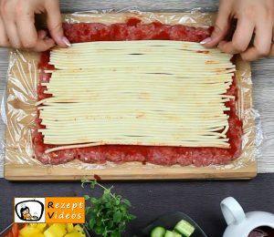 Makkaroni-Fleisch-Rolle Rezept Zubereitung Schritt 3
