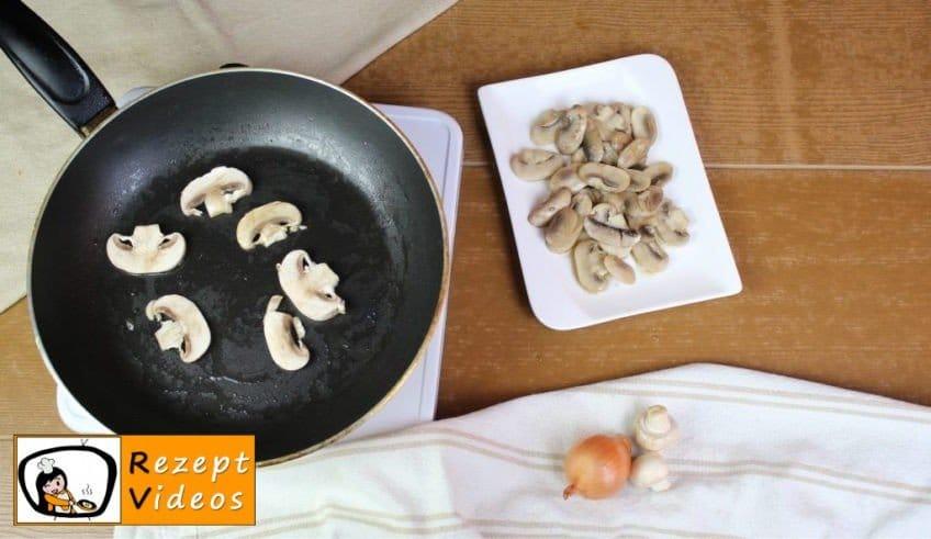 Pilzcremesuppe Rezept - Zubereitung Schritt 5