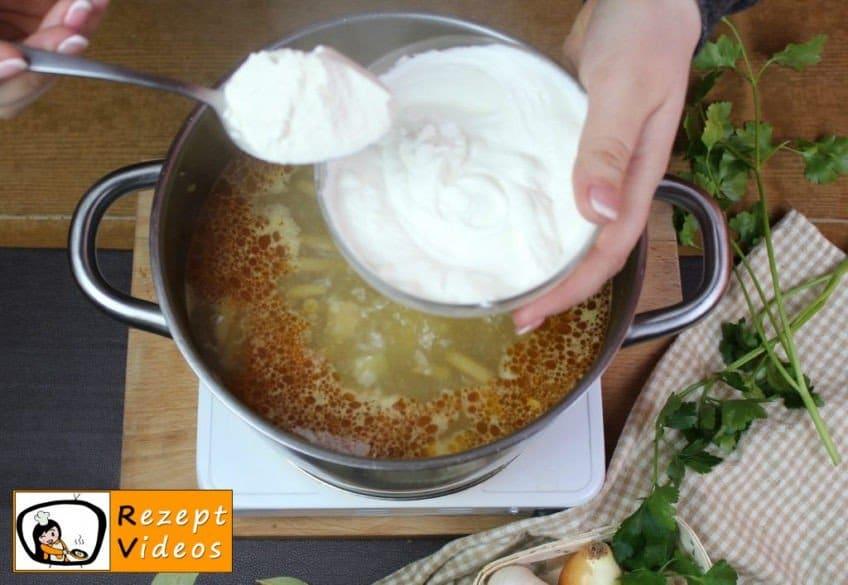 Suppe nach Paloczenart Rezept - Zubereitung Schritt 10