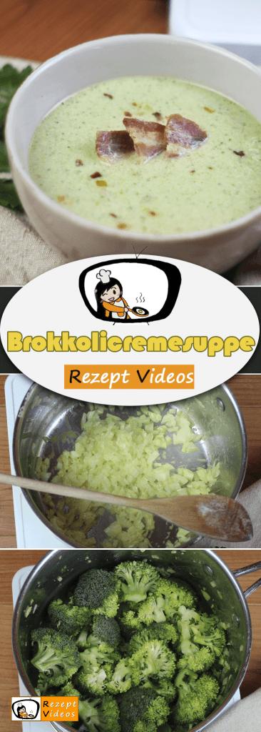 Brokkolicremesuppe, Rezept Videos, einfache Rezepte, schnelle Rezepte, einfache Gerichte, Gemüsesuppe, Suppenrezept
