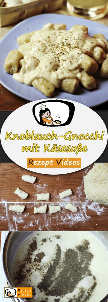 Knoblauch-Gnocchi mit Käsesoße Rezept Videos, einfache Rezepte, schnelle Rezepte, einfache Gerichte,