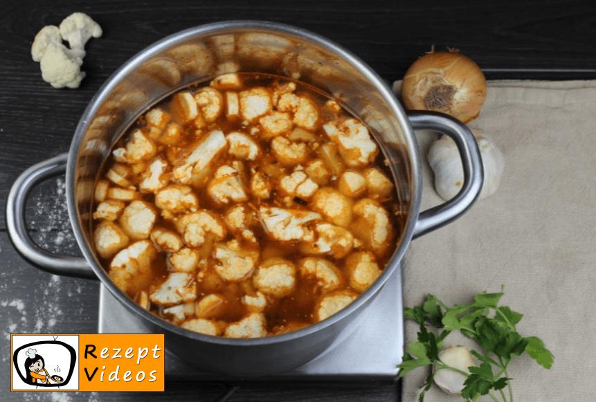 Blumenkohlsuppe mit Sauerrahm Rezept - Zubereitung Schritt 5