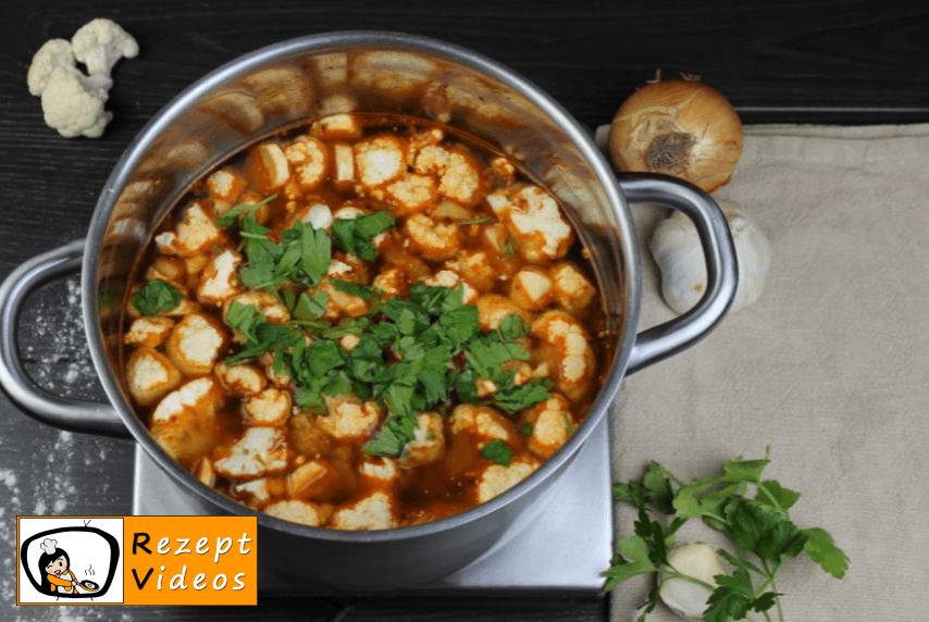 Blumenkohlsuppe mit Sauerrahm Rezept - Zubereitung Schritt 6