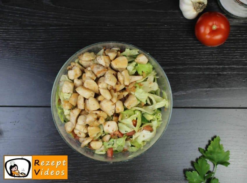 Caesar Salad Rezept - Zubereitung Schritt 4