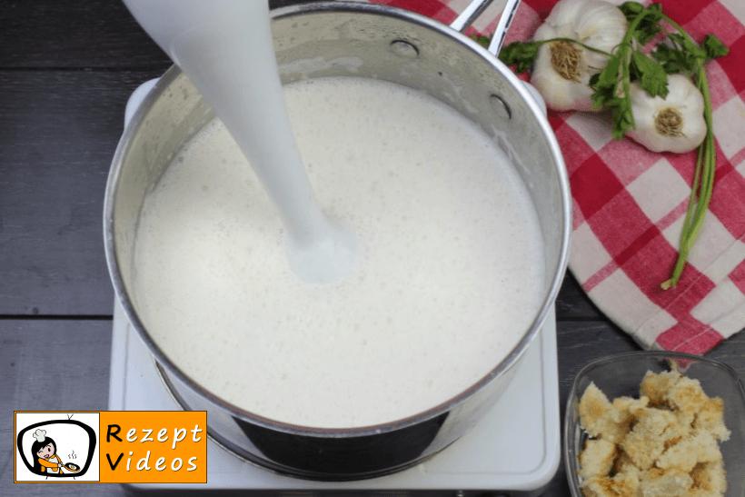 Käsecremesuppe Rezept - Zubereitung Schritt 6