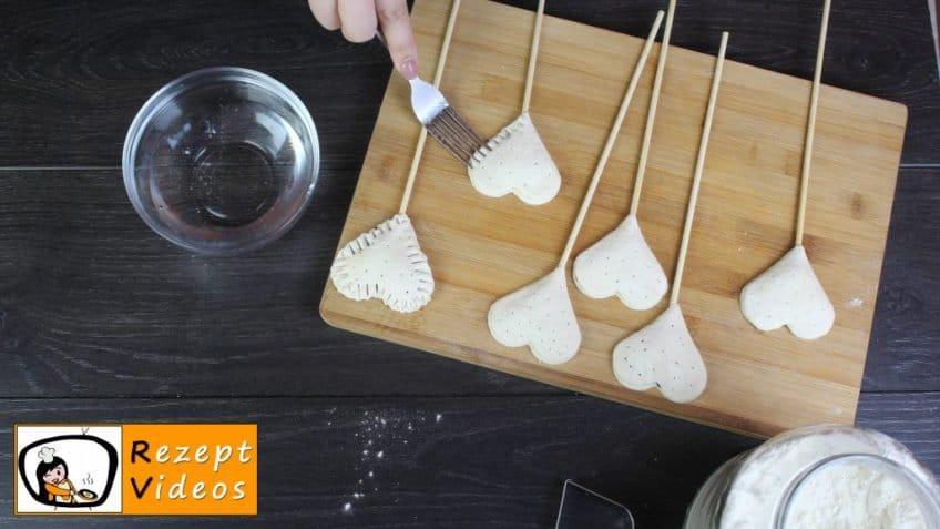 Minimarmeladenherzen Rezept Zubereitung Schritt 7