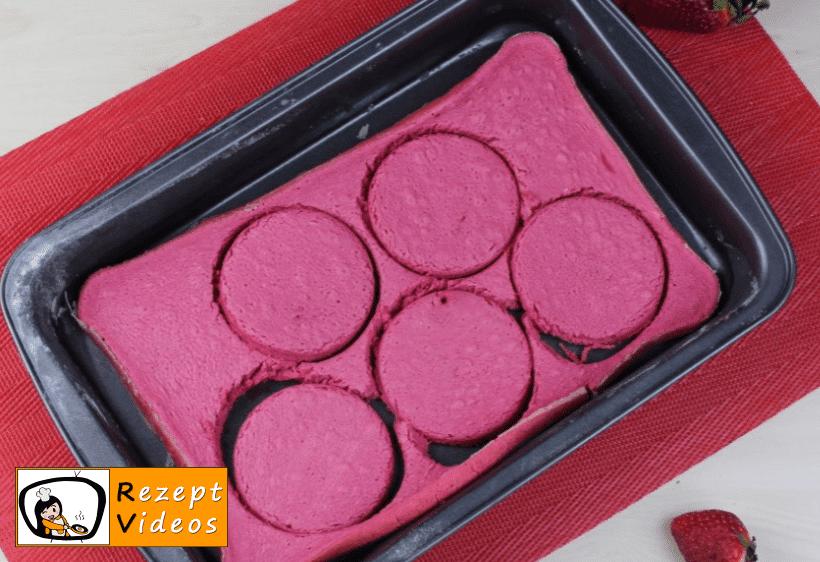 Valentinstag Mini Ombré Torte Rezept Zubereitung Schritt 11