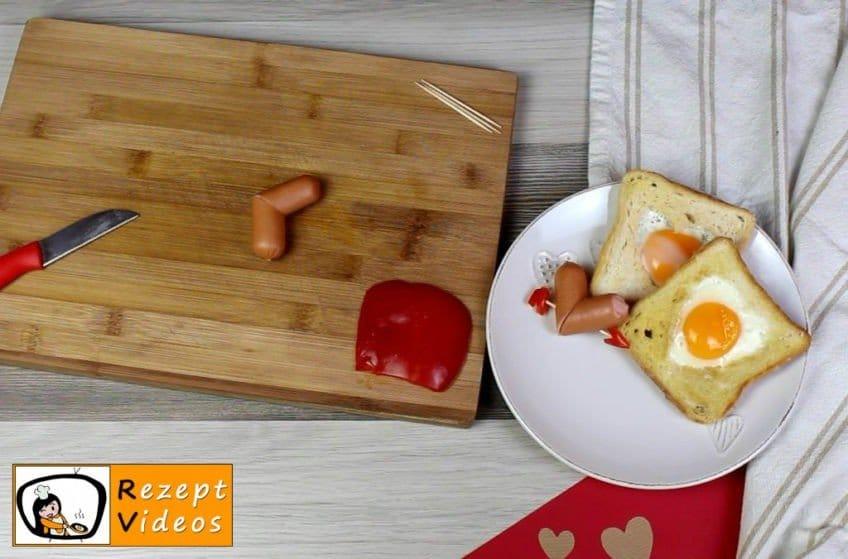 Valentinstagsfrühstück Rezept - Zubereitung Schritt 1