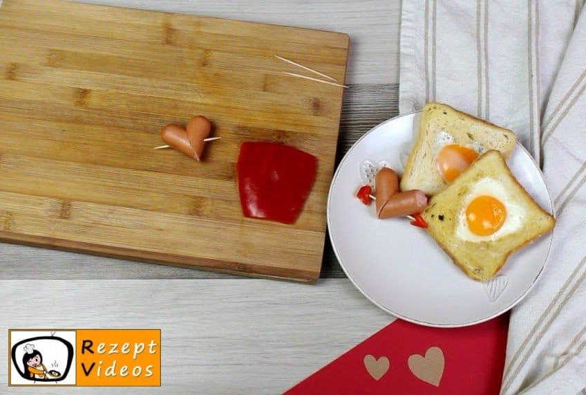 Valentinstagsfrühstück Rezept - Zubereitung Schritt 2