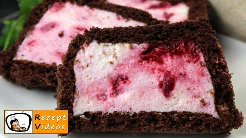 Gefüllter Himbeer-Jogurt-Kuchen