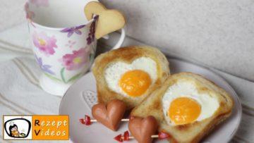 Valentinstagsfrühstück