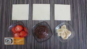 5 Minuten Früchte-Nutella-Wundergebäck Rezept - Zubereitung Schritt 1