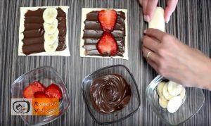 5 Minuten Früchte-Nutella-Wundergebäck Rezept - Zubereitung Schritt 2