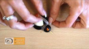 Pinguin-Fingerfood aus Mozzarella Rezept - Zubereitung Schritt 5