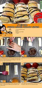 5 Minuten Früchte-Nutella-Wundergebäck Rezept mit Video