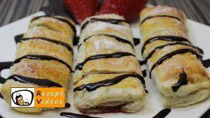5 Minuten Früchte-Nutella-Wundergebäck