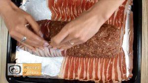 Bacon-Hackfleisch-Rolle Rezept - Zubereitung Schritt 7