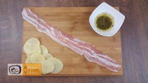Kartoffelrosen mit Bacon Rezept - Zubereitung Schritt 2