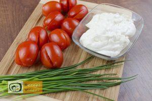 Tomaten-Tulpen mit Fetafüllung Rezept - Zubereitung Schritt 2