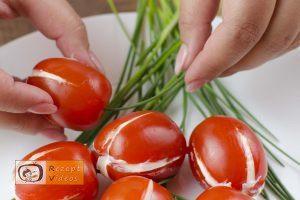 Tomaten-Tulpen mit Fetafüllung Rezept - Zubereitung Schritt 5