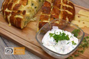 Mit Käse und Kräutern gefülltes Brot - Rezept Videos