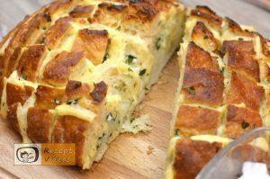 Mit Käse und Kräutern gefülltes Brot Rezept - Zubereitung Schritt 6