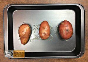 Gefüllte Backkartoffeln mit Bacon Rezept - Zubereitung Schritt 1